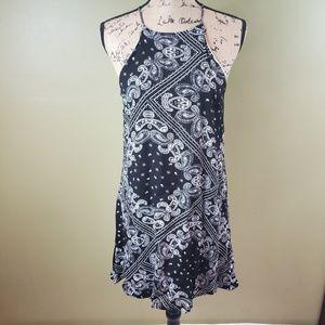 Alyssa Nicole Bandana print dress